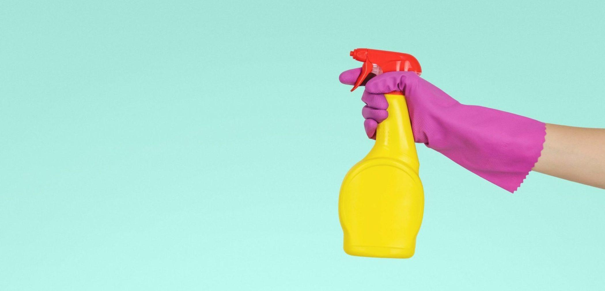 producto limpieza para coronavirus covid-19